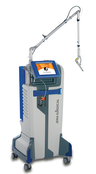 CO2 + Diode Laser Microsurgery: The only workstation combining CO2 and Diode for Mini-invasive applications